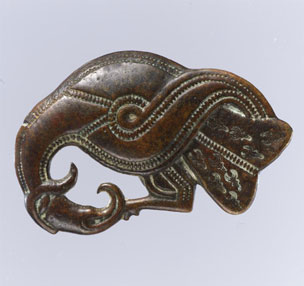 image of Viking longboat prow ornament
